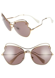Miu Miu 65mm Sunglasses