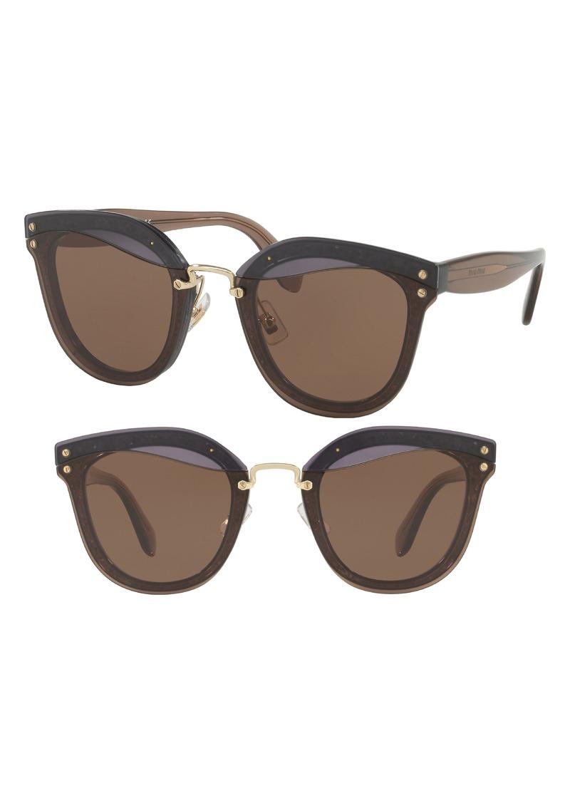 Miu Miu 65mm Sunglasses