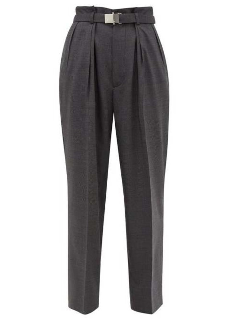 Miu Miu Belted wool trousers