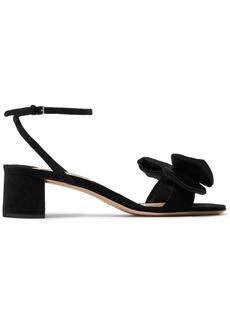 Miu Miu Bow-embellished satin sandals