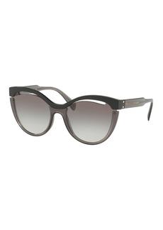 Miu Miu Butterfly Cutout Sunglasses