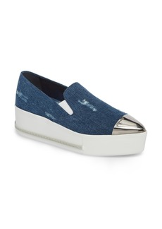 Miu Miu Cap Toe Platform Sneaker (Women)
