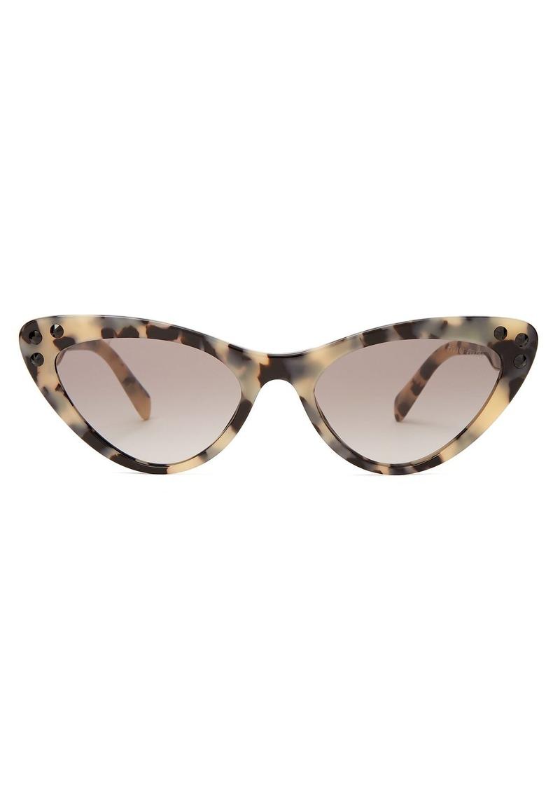ecd078271 Miu Miu Miu Miu Cat-eye tortoiseshell sunglasses | Sunglasses