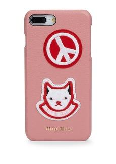 Miu Miu Cat Leather iPhone 7/8 Plus Case