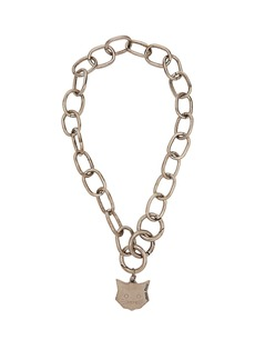 Miu Miu Cat pendant chain necklace