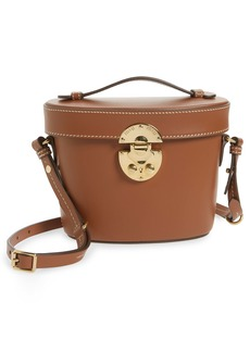 Miu Miu City Vanity Calfskin Leather Crossbody Bag