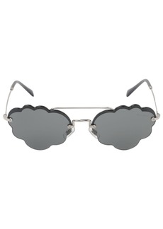Miu Miu Cloud Metal Sunglasses