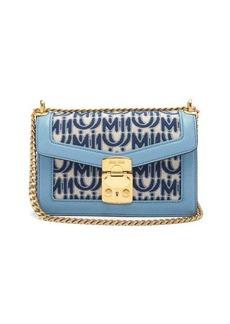 Miu Miu Confidential logo-jacquard shoulder bag