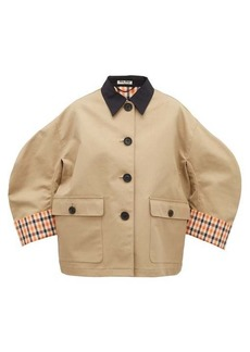 Miu Miu Cotton-canvas jacket