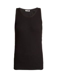 Miu Miu Cotton jersey tank top