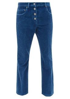 Miu Miu Cropped corduroy jeans