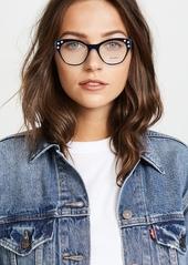 a7092b4ea7a Miu Miu Crystal Cat Eye Glasses Miu Miu Crystal Cat Eye Glasses ...