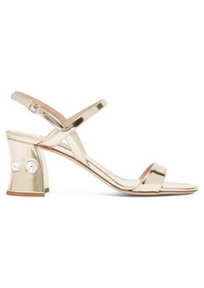 Miu Miu Crystal-embellished block-heel sandals