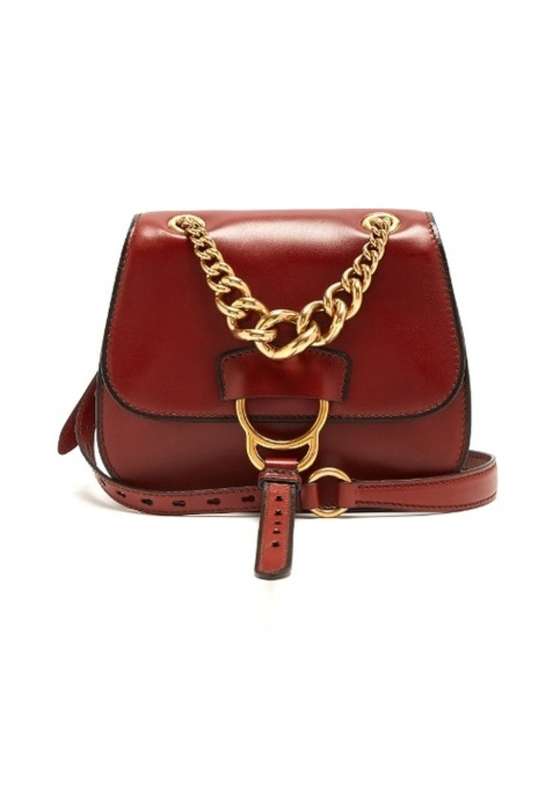 cb5d8746fa5d Miu Miu Miu Miu Dahlia leather cross-body bag