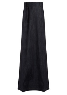 Miu Miu Denim maxi skirt