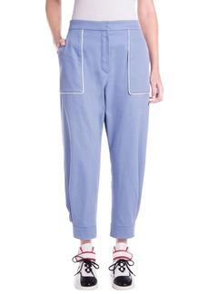 Miu Miu Denim Pocket Detail Pants