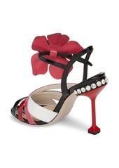 24dbc68bf2b8 Miu Miu Miu Miu Flower Appliqué Sandal (Women)