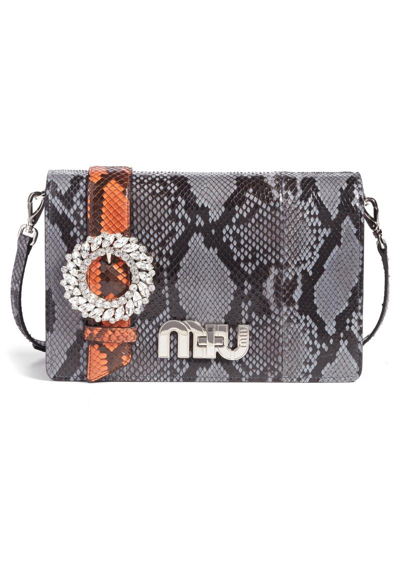 Miu genuine python shoulder bag handbags jpg 800x1127 Miu python tote 0d8d28ea2fd82