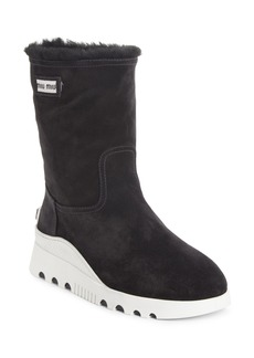 Miu Miu Genuine Shearling Boots (Women)