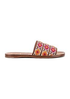 Miu Miu Jewel Flat Sandals