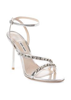 Miu Miu Jewel Strap Sandal (Women)