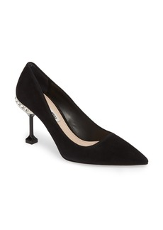 Miu Miu Jeweled Pump (Women)