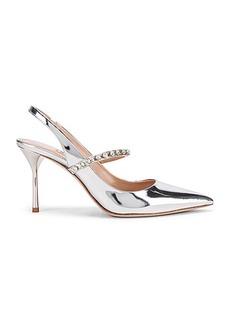 Miu Miu Jeweled Slingback Heels