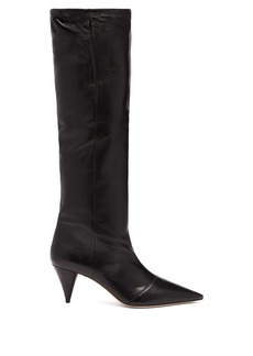 Miu Miu Knee-high leather boots