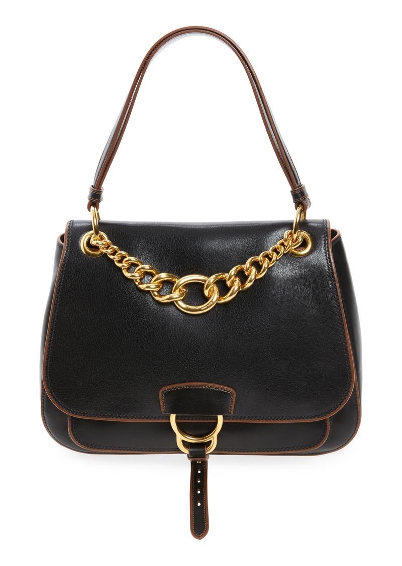 4f3ae5c56f3d Miu Miu Miu Miu Large Madras Dahlia Leather Shoulder Bag