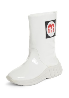 Miu Miu Logo Rainboot (Women)
