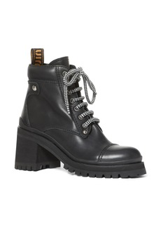 Miu Miu Lugged Combat Boot (Women)