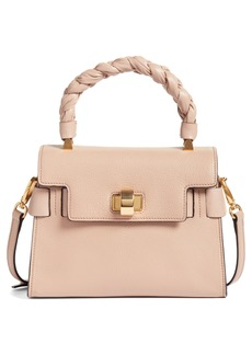 Miu Miu Madras Leather Top Handle Satchel