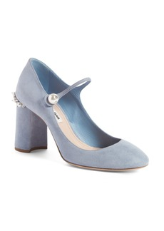 Miu Miu Mary Jane Pump (Women)