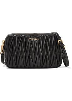 Miu Miu Matelassé leather camera bag
