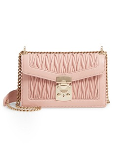 Miu Miu Matelassé Leather Crossbody Bag