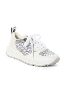 Miu Miu Mesh Glitter Sneaker (Women)