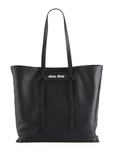 Miu Miu Miu Patch Medium Grace Lux Tote Bag