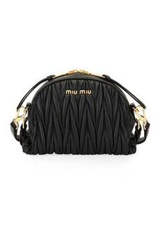 Miu Miu My Miu Matelasse Small Crossbody Bag