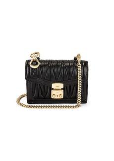 Miu Miu Nappa Leather Mini Pouch