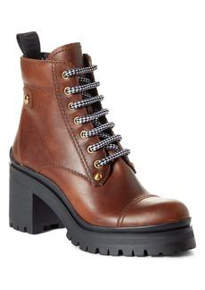 Miu Miu Nevermind Platform Hiking Boot (Women)