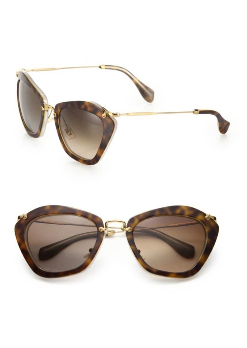 66f65d787641b Miu Miu Noir Catwalk Cat Eye Sunglasses