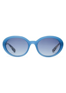 Miu Miu Oval-shaped acetate sunglasses