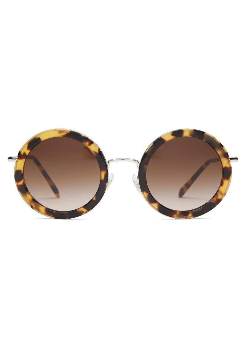 9308453cf02f Miu Miu Miu Miu Oversized round-frame acetate sunglasses | Sunglasses