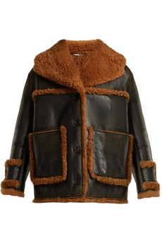 Miu Miu Oversized shearling coat