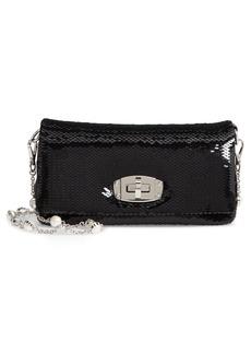 Miu Miu Paillettes Flap Crossbody Bag