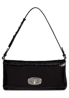 Miu Miu Paillettes Shoulder Bag