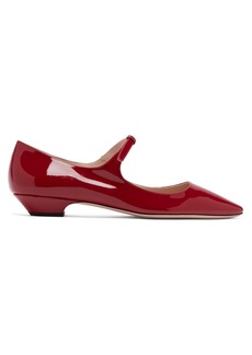 Miu Miu Patent-leather Mary-Jane flats
