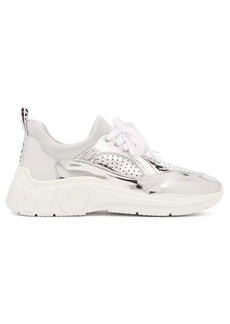 Miu Miu Perforated low-top trainers