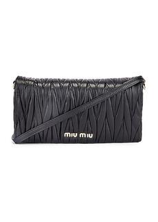 Miu Miu Quilted Crossbody Bag