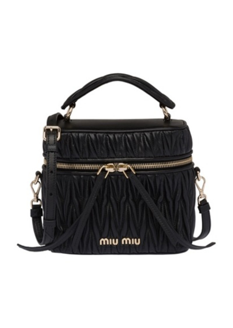 Miu Miu Quilted Mini Bag
